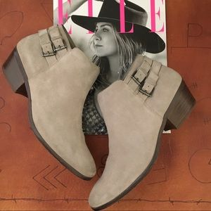 Sam Edelman Suede Boho Western Ankle Boot Wore2x